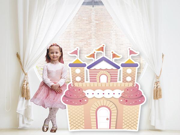 Cake Castle Standee