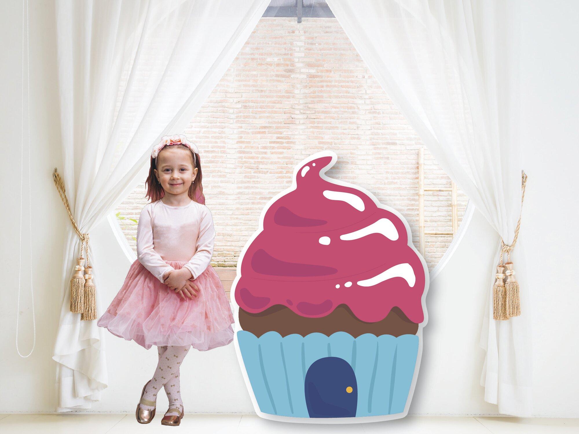 Pink Cupcake House