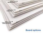 Mock Cheque Boards - Board Options