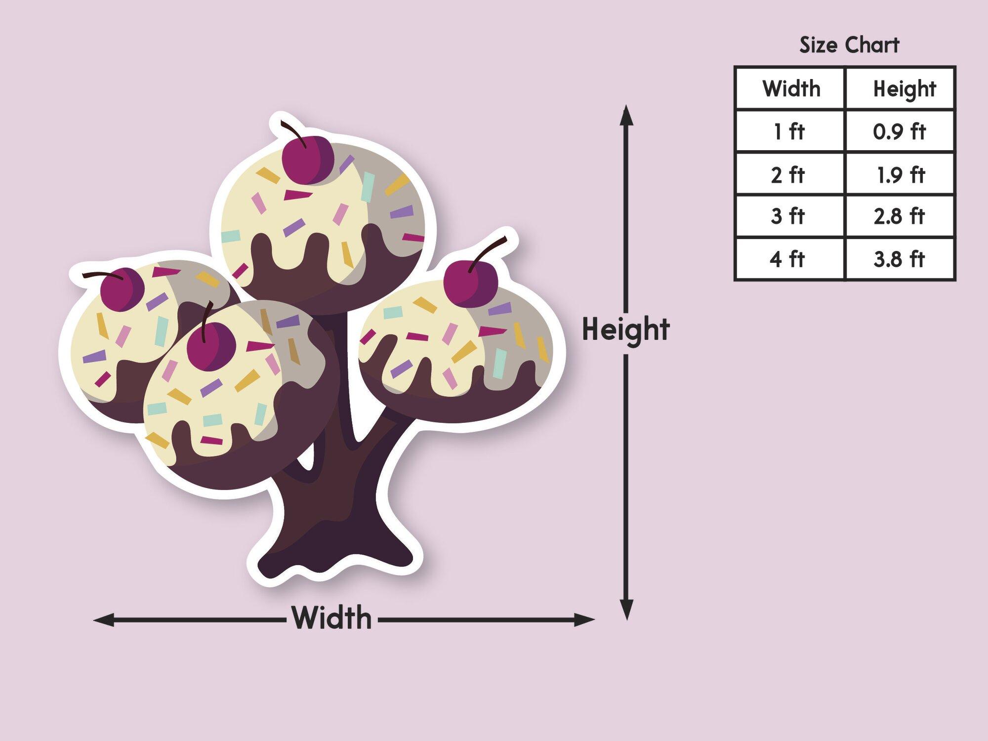 Donut Tree Standee