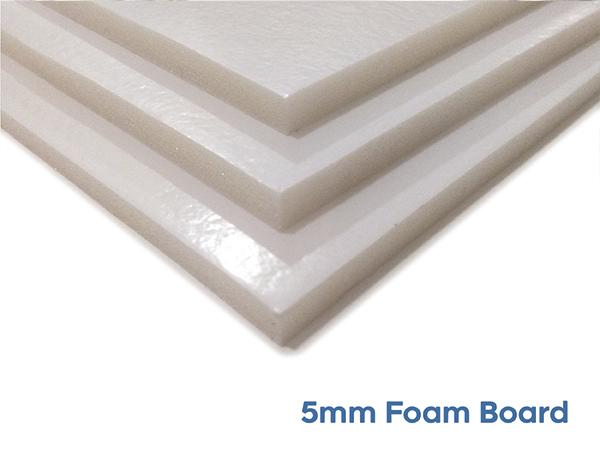 Mock Cheque Boards - 5mm Foam Board