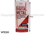 Digital Table Tent Card Print - WTC01