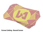 Bulk Offset Business Cards - Round Corner