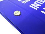 Inter-Screw Hardcover (Screw Outside)  Close Up Screw