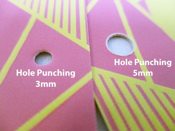 Bulk Offset Business Cards - Hole Punching