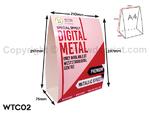 Digital Table Tent Card Print - WTC02