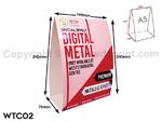 Digital Table Tent Card Print - WTC03