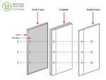Inter-Screw Hardcover (Screw Outside) Book Anatomy